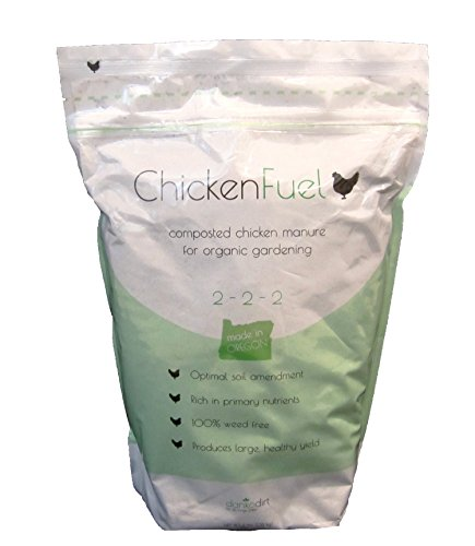 Chickenfuel omri listed organic compost fertilizer 3lb for Compost soil bags
