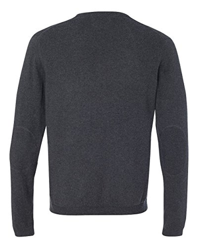 Cashmere Vintage Sweater (Weatherproof 151325 Men's Vintage Cotton Cashmere Crewneck Sweater Charcoal Heather 3XL)