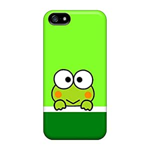 AnnaDubois Iphone 5/5s Excellent Hard Phone Case Custom Vivid Keroppi Skin [JYf13108nMEc]