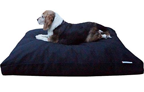 Extra Large Navy Rectangular Dog Pillow