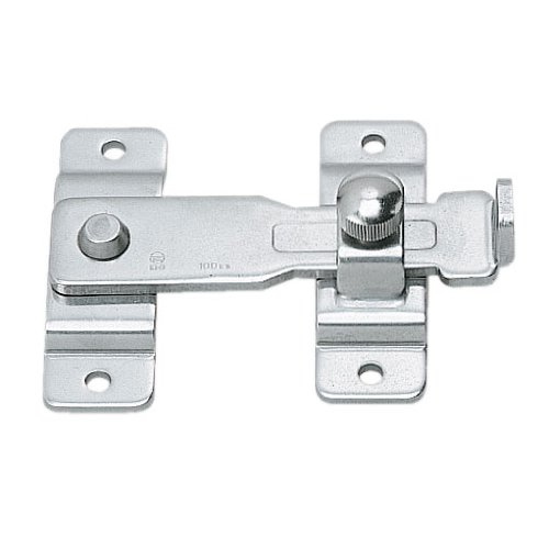 Stainless Steel 304 Bar Latch, Polished Finish, Non Locking, 2 11/64'' Length (Pack of 1)