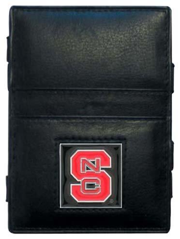 - Siskiyou NCAA North Carolina State Wolfpack Leather Jacob's Ladder Wallet