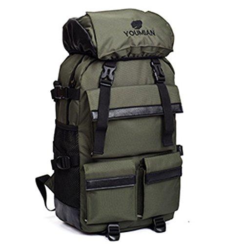 Mochilas de los hombres/Mochila para computadora/Nylon impermeable bolsa de viaje/Mochila de estudiante del Colegio-A A