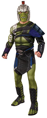 Rubie's Thor: Ragnarok Adult Deluxe Warrior Hulk Costume, (Hulk Costume For Adults)