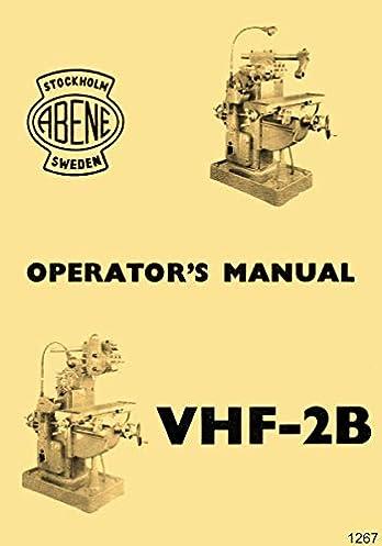 amazon com abene vhf 2b milling machine owner\u0027s operator\u0027s wiring A CNC Machine