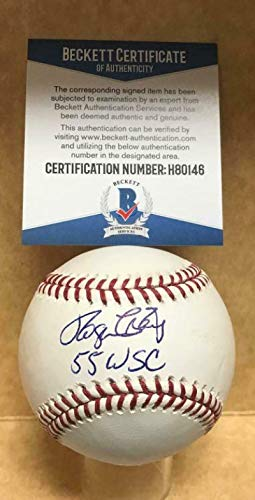 Roger Craig (Baseball) Autographed Baseball - 55 Wsc M l Beckett H80146 - Beckett Authentication - Autographed Baseballs