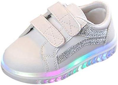 発光シューズ LED 無地 男の子 女の子 運動靴 滑り止め 柔らかい 可愛い Jopinica スニーカー 子供靴 軽量通気