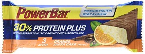 PowerBar Orange Jaffa Cake Protein Plus Bar, 55 g - by Power Bar by Powerbar