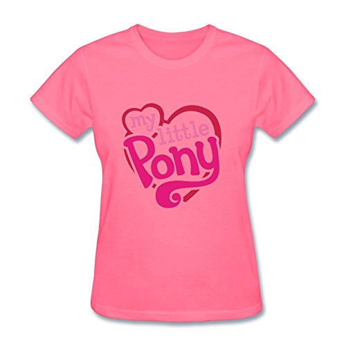 Tommery Women's My little pony Hasbro Rainbow Dash Costume Logo Design Short Sleeve Cotton T Shirt ()