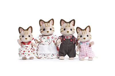 Calico Critters Caramel Cat Family by Calico Critters