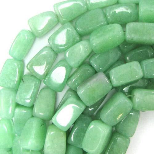18mm Green Aventurine Nugget Beads 15