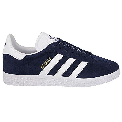 Adidas Originals Men's Gazelle Lace-up Sneaker,Collegiate Navy/White/Gold Met.,10 M US