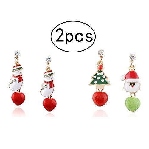 Assorted Christmas Earrings - 4