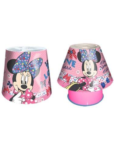 Minnie mouse light shade kool lamp lighting set amazon minnie mouse light shade kool lamp lighting set aloadofball Image collections