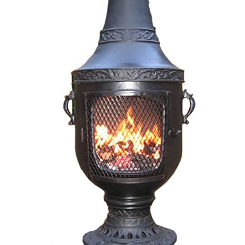 Chiminea Outdoor Fireplace Wood Burning Venetian Design Best Prices