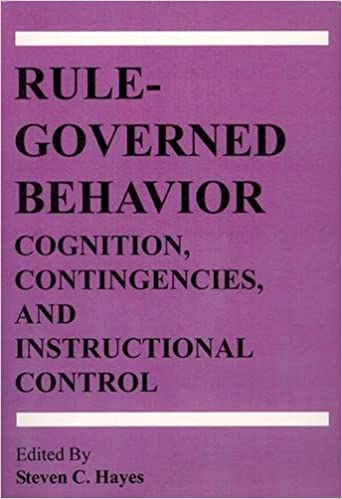 Amazon Rule Governed Behavior Cognition Contingencies And