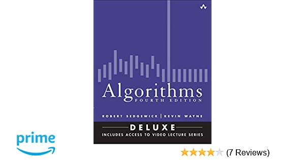 Algorithms fourth edition deluxe book and 24 part lecture series algorithms fourth edition deluxe book and 24 part lecture series robert sedgewick kevin wayne 9780134384689 amazon books fandeluxe Image collections