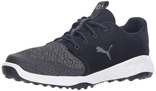 PUMA Golf Men's Grip Fusion Sport Golf Shoe, Peacoat-Quiet Shade, 10 M US
