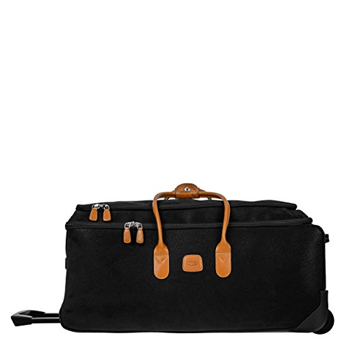 Bric's Life 28 Inch Rolling Duffle Bag Suitcase, Black by Bric's