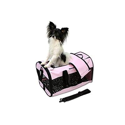 Petmate Soft-Sided Kennel Cab Pet Carrier, Medium, Black