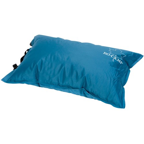 Camping Kissen 50 cm selbstaufblasend mit Tasche Soft-Touch-75D Polyester kompakt Outdoor aufblasbar selbstaufblasbar komprimierbar