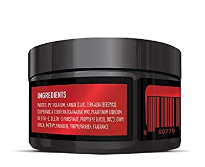 Hair Craft Co. Clay Pomade 2.8oz - Shine Free Matte Finish - Medium Hold/Natural Look - Best Men's Styling Product, Barber Approved - Ideal for Textured, Thickened & Modern Hairstyles - Unscented