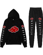 AMCYT Cloud Hoodies en joggingbroek pullover pants kinderen jongens Sharingan 3D sweatshirt hoodie shirt