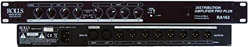Rolls RA163 8-Channel Distribution Amplifier by rolls