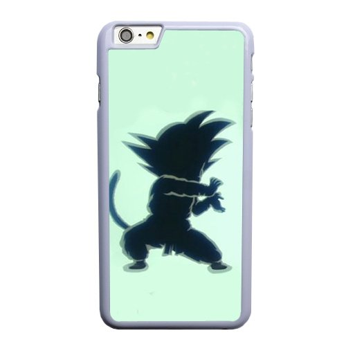Coque,Apple Coque iphone 6 6S plus (5.5 pouce) Case Coque, Generic Anime Dragon Ball Z Goku Cover Case Cover for Coque iphone 6 6S plus (5.5 pouce) blanc Hard Plastic Phone Case Cover