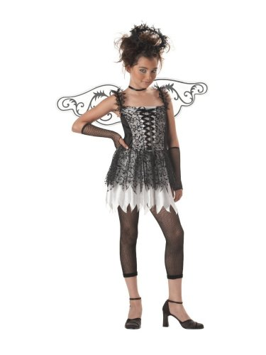 California Costumes Tween Girls Dark Angel Costume Fishnet Leggings XL (12-14) (2)