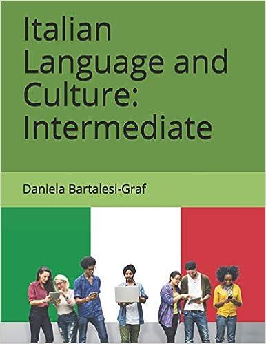 Italian Language and Culture Intermediate