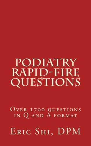Podiatry Rapid Fire Questions Epub