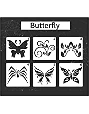 Portable stencils Children Drawing Stencils PET Material Painting Templates Reusable for DIY Painting Craft Journal Notebook Diary Scrapbooking Card Decoration