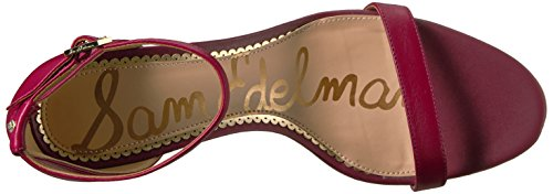Sam Edelman Women's Patti Dress Sandal Cranberry Leather wholesale price sale online F5caoX1l