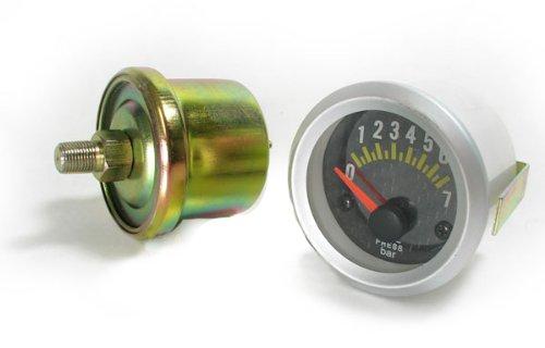 Carparts-Online 11356 /Öldruck Anzeige Zusatz Instrument 52mm Carbon