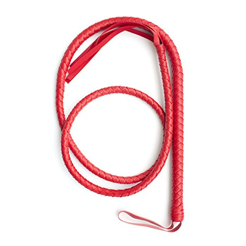 1PC Sexy Bondage 190cm Red Faux Leather Whip Sex Slave Horse Whips Flogger Sextoys Erotic Sex Toy Adult Products Tools by COOL JULY-adult sex toys