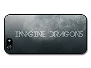 Imagine Dragons Blue and Grey Logo case for iPhone 5 5S by supermalls
