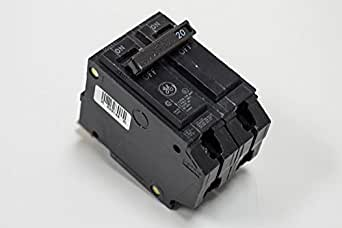 2-Pole 25-Amp Thin Series General Electric THQP225 Circuit Breaker