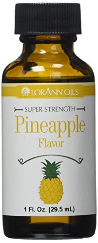 Lorann Oils Pineapple 1 Ounce Flavoring (Pineapple Flavor Oil)