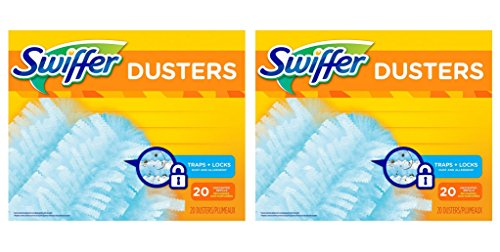 Swiffer 180 Dusters Refills Unscented dLcJMd, 2Pack (20 Count) by Swiffer