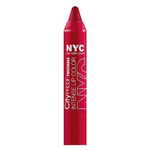N.Y.C. New York Color City Proof Twistable Intense Lip Color, South Ferry Berry, 0.09 Ounce