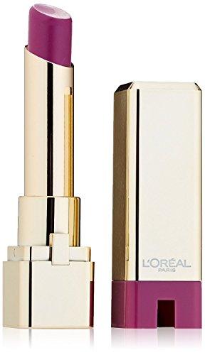 L'Oreal Colour Riche Caresse Lipstick, 175 Violet Chiffon- 0.1 Oz