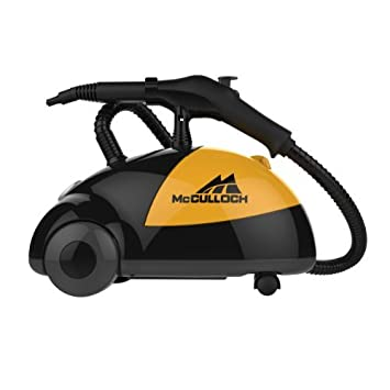 McCulloch MC1275 Heavy-Duty Steam Cleaner with 18 Accessories All-Natural,...