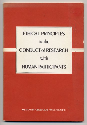 ethical principals for protecting research participants In addition to discussing institutionalized procedures to protect human research participants, hugman analyzes research ethics in terms of duty, consequences, and character (virtue ethics or the ethics of care.