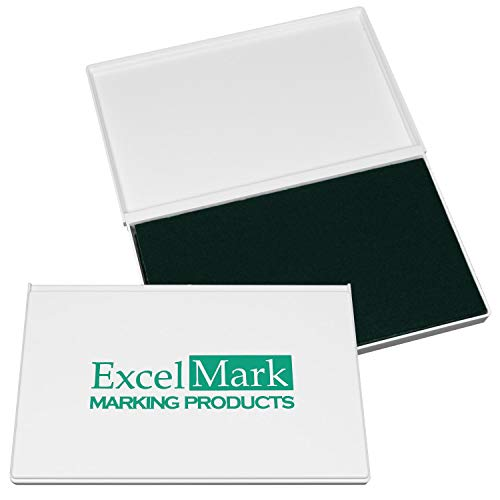 (ExcelMark Rubber Stamp Ink Pad Extra Large 4-1/4