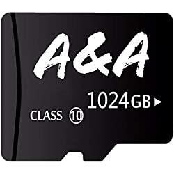 1TB Micro Memory Card with Adapter for 1TB Micro SD Card Slot