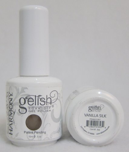 Harmony Gelish UV Soak Off Gel Polish Vanilla Silk