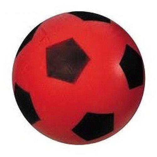 Schaumstoffball / Softball / Fußball ca. 20 cm Ball in rot