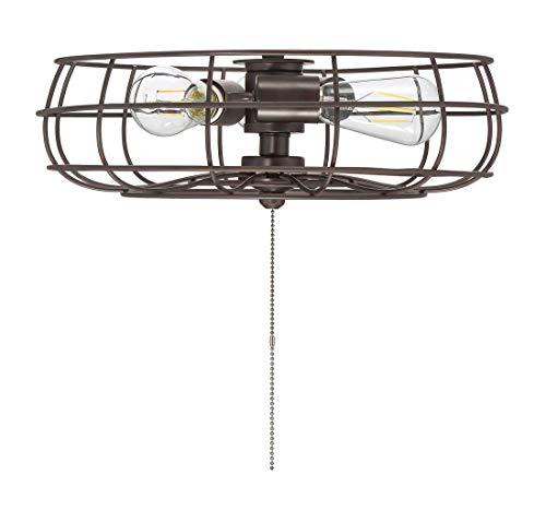 Savoy House Ratcliffe 15.75 inch 3-Light Fan Light Kit in English Bronze ()