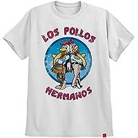 Camiseta Los Pollos Hermanos Breaking Bad Camisa Gus Fring